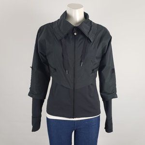 Lululemon Seek The Peek Black Jacket Size 6